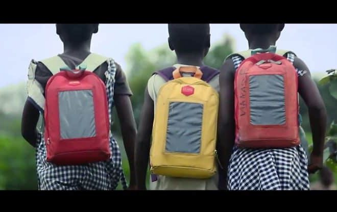 """""""No child should study in the dark"""": Solar-powered school bags changing Cote d'Ivoire's education"""