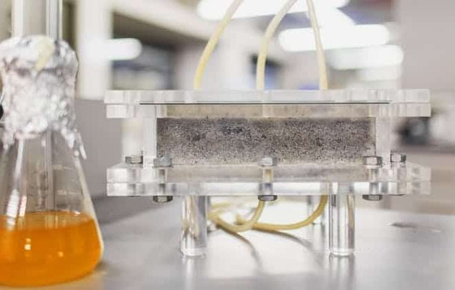 """There's a new way to """"grow"""" bio-bricks using human urine. Here's how it works."""