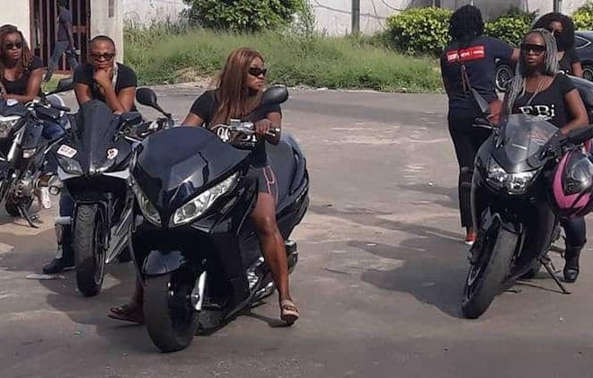 Meet the female bikers promoting health awareness among Nigerian women