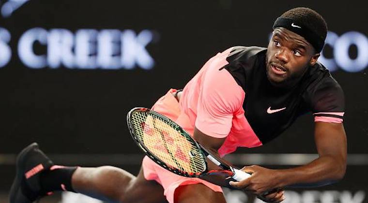 Frances Tiafoe, at just 21, has become the latest sensation on the tennis court. He however lost to Rafael Nadal at the Australian Open yesterday. Photo: Facebook/Frances Tiafoe