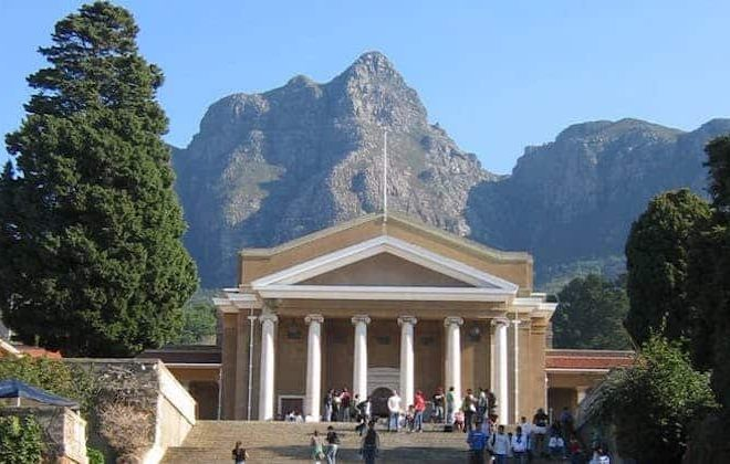The University of Cape Town's recent history matters as much as its past