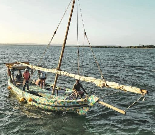 Kenyan conservationists build world's first plastic waste dhow