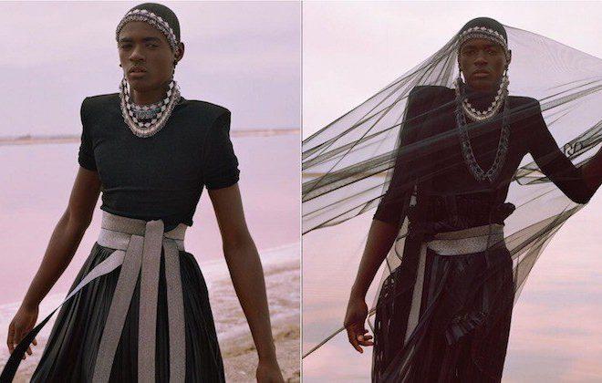 South African designer Lukhanyo Mdingi debuts at New York Fashion Week 2019