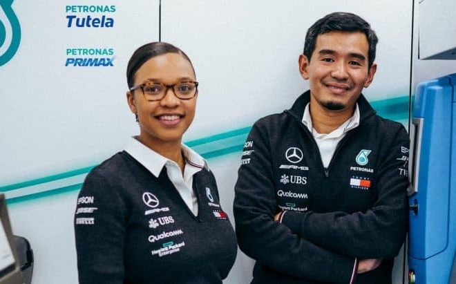 Zimbabwean Stephanie Travers is new Mercedes-AMG F1 Trackside Fluid Engineer
