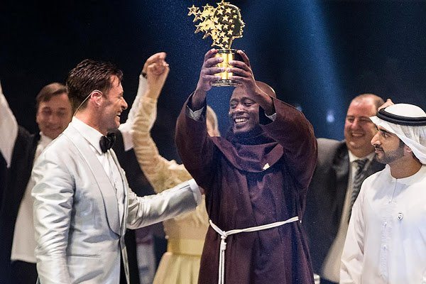 The world's best teacher is Kenyan science instructor Peter Tabichi