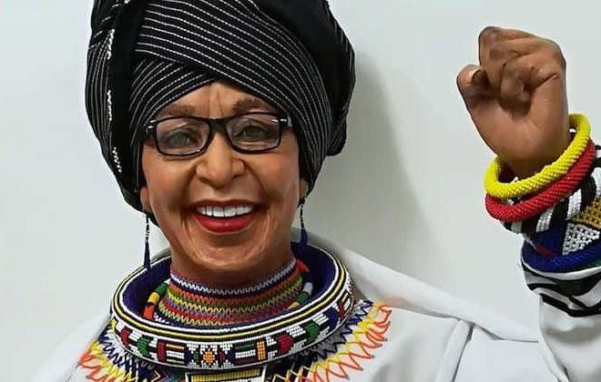 Lungelo Gumede creates wax statue in honour of Winnie Madikizela-Mandela