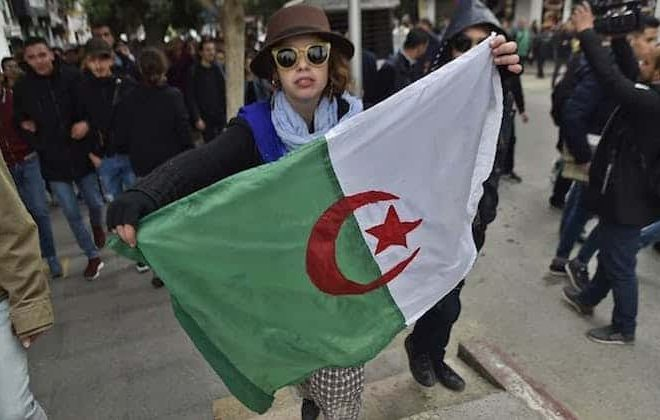 Protesters in Algeria use nonviolence to seek real political change
