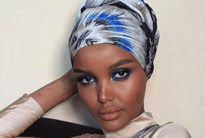 "Halima Aden: The first model to wear a hijab and burkini in ""Sports Illustrated"""
