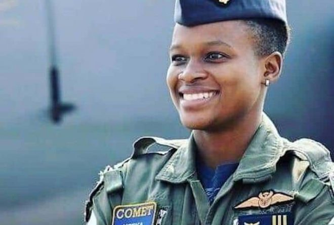 Meet Major Mandisa Mfeka, South Africa's first black female combat pilot