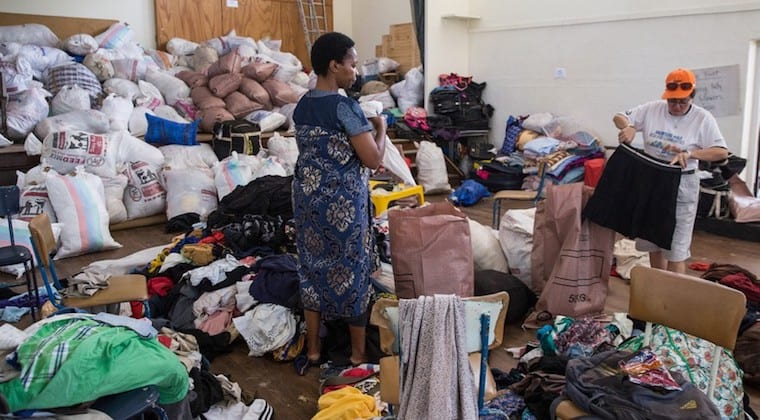 Cyclone Idai: Zimbabweans rally to help each other