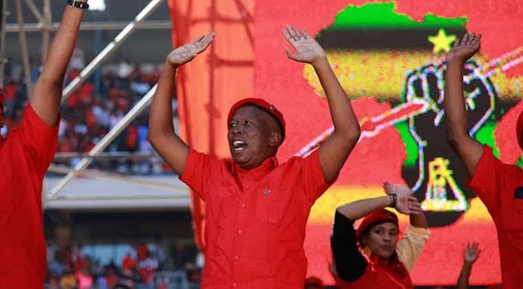 What the EFF's self-styled militarism says about South Africa's third largest party