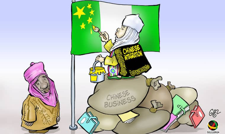 Chinese integration? Chinese businessman named a chief in Nigeria