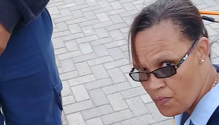 A woman was taking selfies on a Sea Point bench. She was arrested and locked in a cell overnight