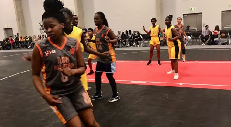 South Africa: Township basketball teams celebrate Youth Day at the CTICC