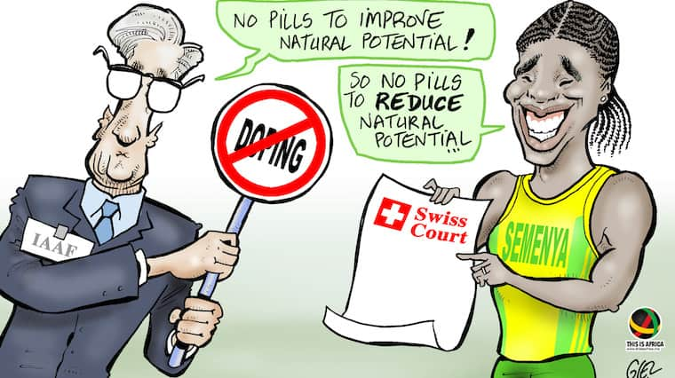"IAAF says it seeks ""swift reversion"" of Swiss court's Caster Semenya order"