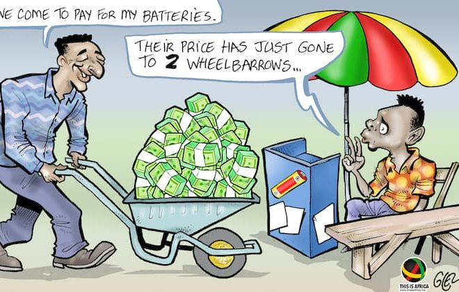 Cartoon: Zimbabwe reintroduces the Zim Dollar