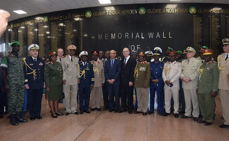 African Union honours Africa's fallen heroes and heroines