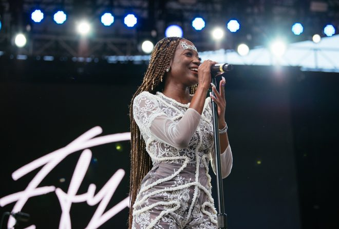 Pictures: Mr Eazi, Efya and Blinky Bill perform at the Central Park SummerStage Festival