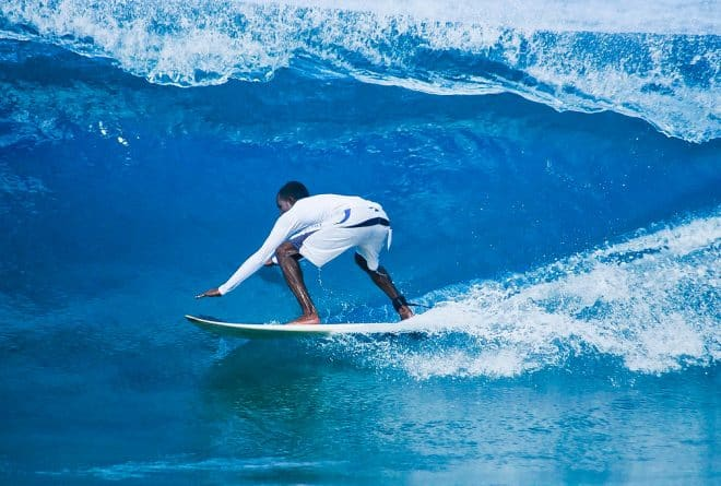 The history of black surfers and Africa's big surf destinations