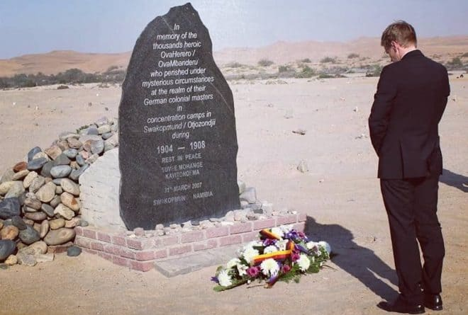 Has the relationship between Namibia and Germany sunk to a new low?