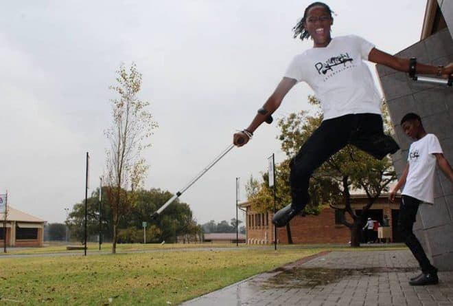 South African amputee dancer Musa Motha soars high