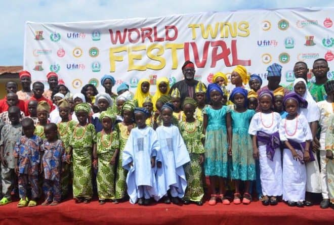 African Festivals honouring twins