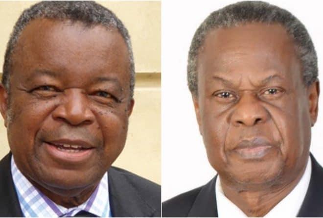 Dr. Jean-Jacques Muyembe-Tamfum (DRC) and Dr. Francis Gervase Omaswa (Uganda) receive Third Hideyo Noguchi Africa Prize