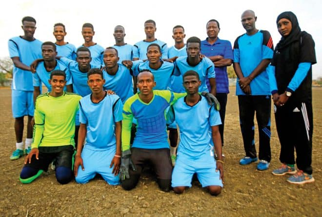Meet Salma al-Majidi the first woman to coach male football in Sudan