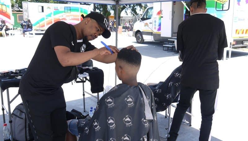 Tackling HIV: one haircut at a time