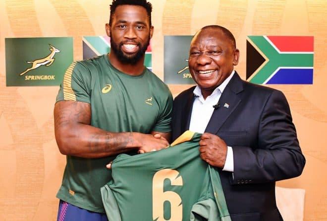 Meet Siya Kolisi the Springboks first black captain in the team's 126-year history