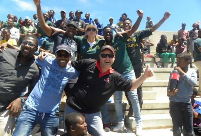 Rugby unites all in Siya Kolisi's hometown