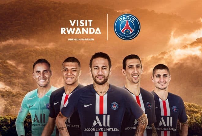 From Arsenal to PSG Rwanda is doubling down deals to promote tourism