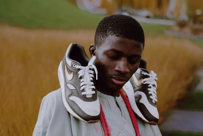 Nigerian student Taoheed Bayo designed Nike's Afro-Yute Air Max 1 sneakers