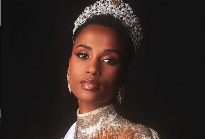 Zozibini Tunzi crowned Miss Universe South Africa's third win at the pageant
