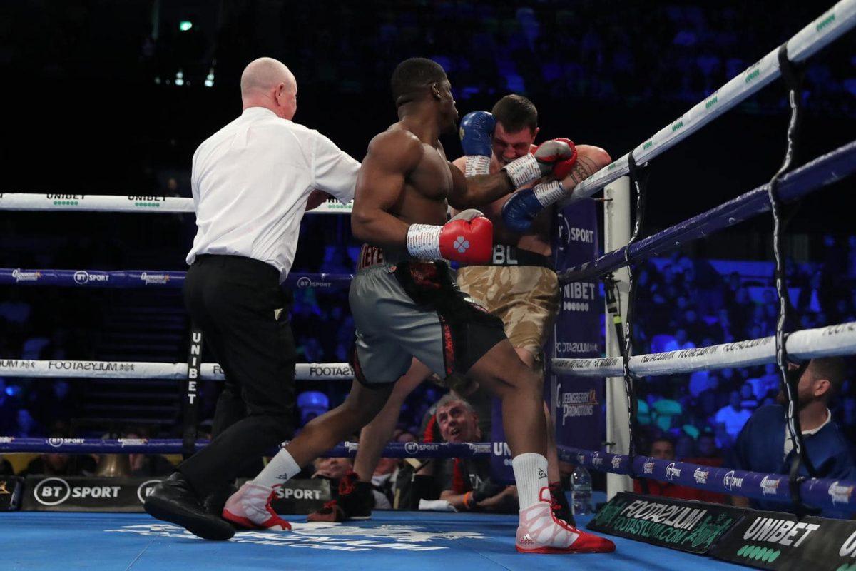 Nigerian heavyweight boxer David Adeleye makes professional debut