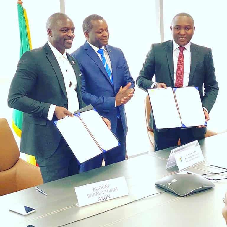 Senegal: Akon finalises agreement to develop 'Akon City'