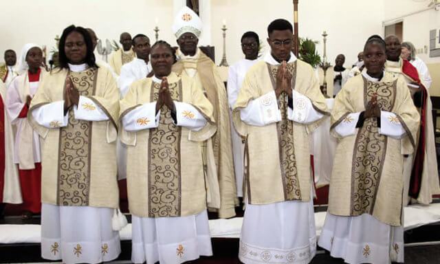 Mozambique ordains its first women Anglican clergy