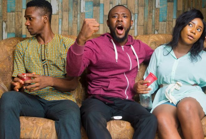 Matches on and off the field: Nigerian wives pick a side