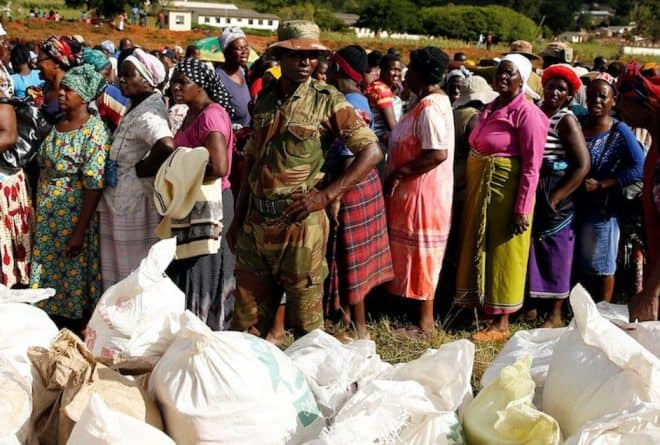 Politicians continue to bicker while Zimbabweans are starving