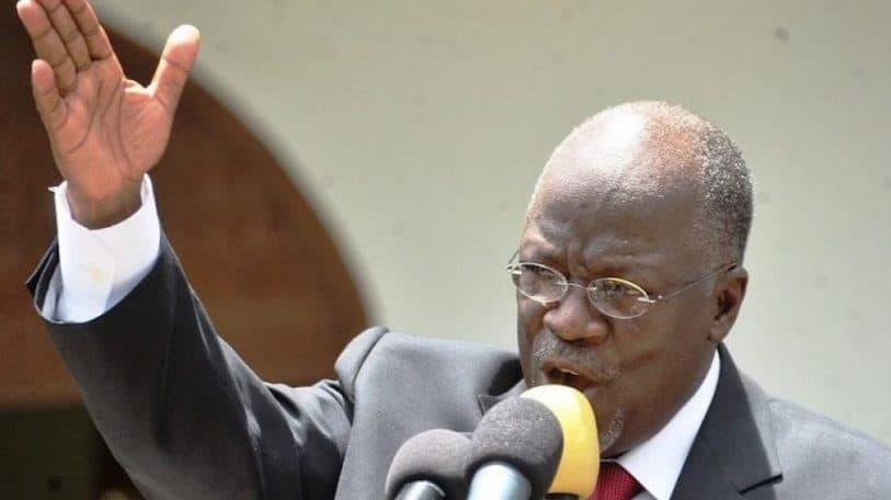 Magufuli confronts COVID-19 with prayer and snake oil