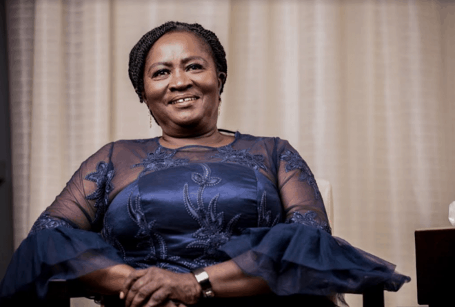 What Ghana's first woman vice presidential candidate of a major party offers