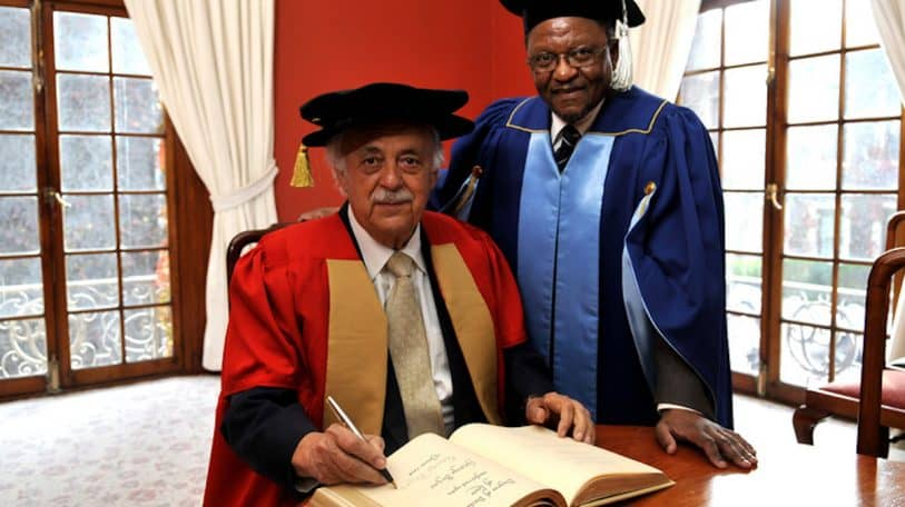 UCT mourns the passing of Advocate George Bizos