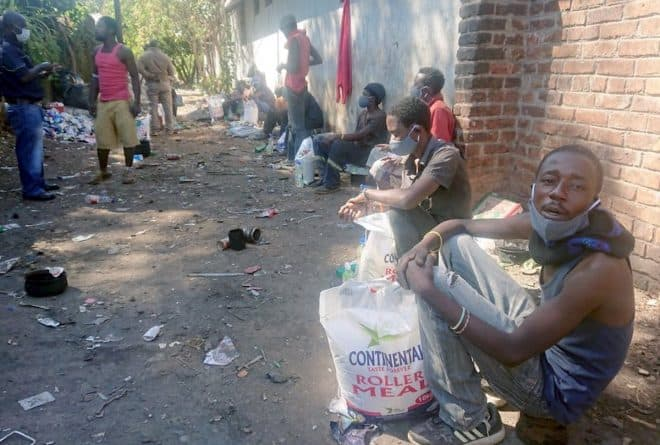 Young people living on Harare's streets provide glimpses into life under COVID-19 lockdown