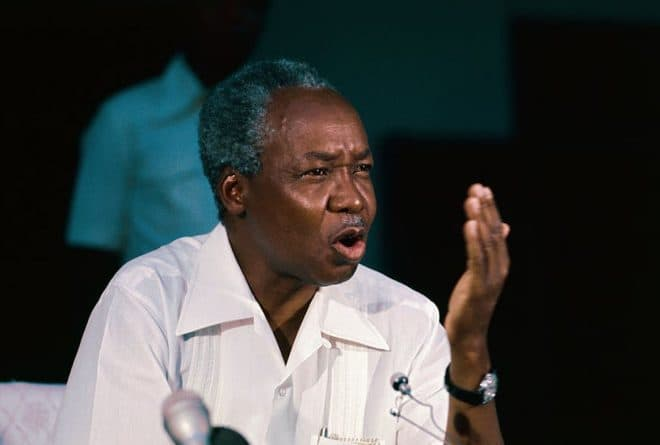 A contested legacy: Julius Nyerere and the 2020 Tanzanian election