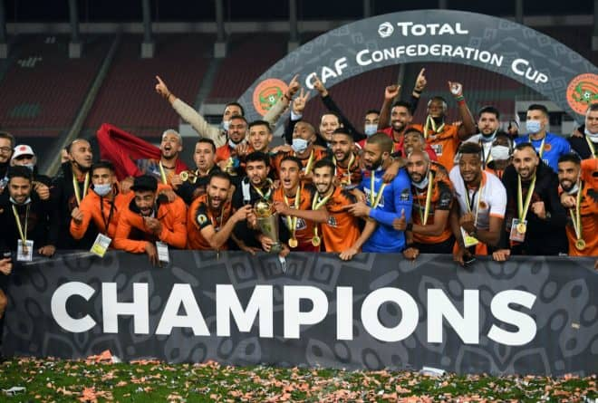 Renaissance Sportive De Berkane in historic first title