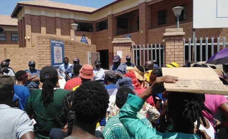 South Africa: Musina residents demand jobs held by immigrants