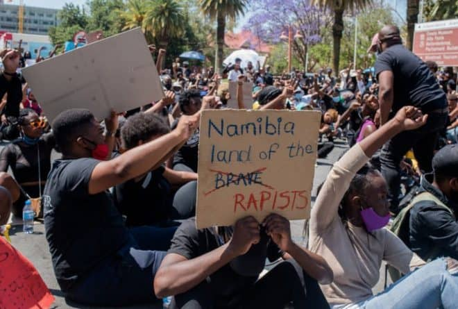 #ShutItAllDown in Namibia – the fight against gender-based violence