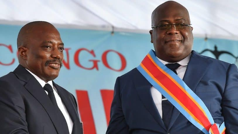 DRC's shady political alliance unravels