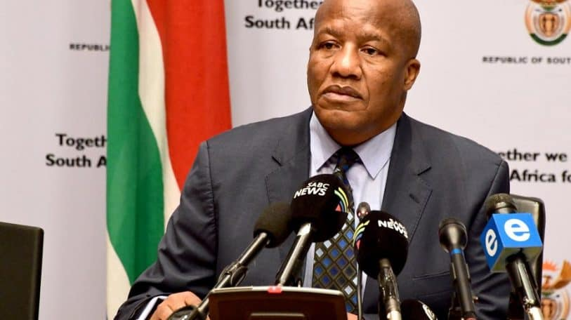 South African minister's COVID-19 death unites friends and rivals in tribute