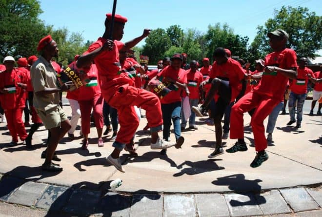 The incredible journey of the toyi-toyi, southern Africa's protest dance